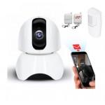 2MP Wifi valdoma kamera IPWX3A su mini apsaugos sistema