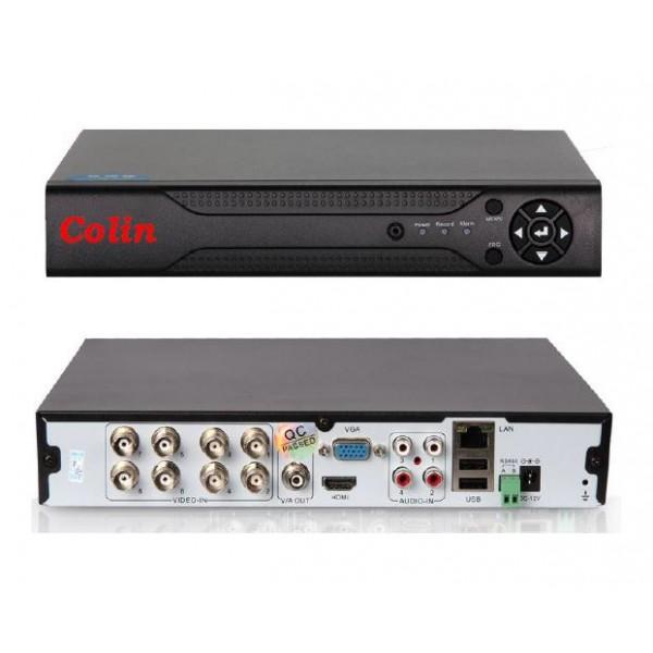 8 kanalų hibridinis įrenginys XVR1208GP