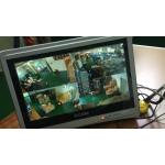 "2MP 4 Wi-Fi IP kamerų komplektas su 12.5"" ekranu"