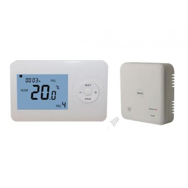 Išmanusis belaidis termostatas su imtuvu