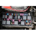 Medium saugiklio adapteris transporto priemonėms