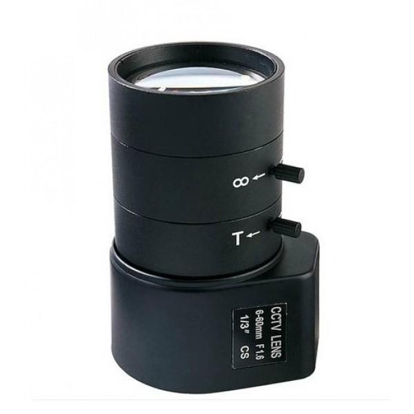 Varifokalinis objektyvas 6.0-60.0mm