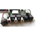 2.4GHz analoginio signalo siųstuvo/imtuvo plokštės su antenomis