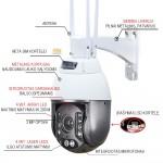 4G PTZ kamera, PoE, H265