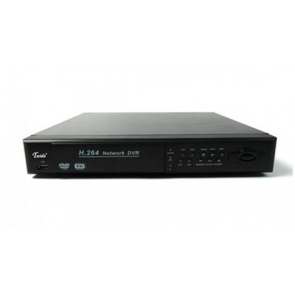 4 kanalų DVR1004 2HDD RS485